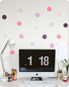 Make Room: DIY: Dots on your wall