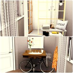 Urban Living by Simberry / Kitchen / Bathroom/ Sims 3 / Apartment Sims 3 Apartment, Free Sims, Maxis, Apartments, Urban, Bathroom, Kitchen, House, Furniture