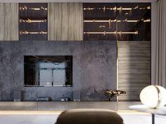 SHADES OF BEIGE on Behance Lcd Wall Design, Floor Design, Shades Of Beige, 3ds Max, Tv Unit, Modern Luxury, Living Area, Graphic Design, Interior Design