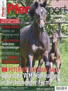 """Pferde Sport international 16/2014  """"Deutsche WM-Hoffnungen in bestechernder Form"""""""