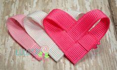 Hearts Hair Pins   The Lollipop Boutique   Hair Accessories