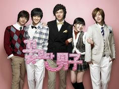 "boys over flowers : boys over flowers this show is at least one of  the best k-drama , manga , and anime  I've ever watched/read the reason recommend your heart will race over the cute boy in this K-drama (theres also a j drama haven't watched it)and you love and be moved each of the main character plot/stories. all together you'll love this k-drama, manga, j-drama And anime series a lot if your into a sweet loving romance (the anime a little ""pg13"" if you know what I mean though)"