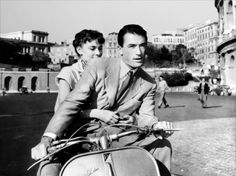 Roman Holiday - Gregory Peck & Audrey Hepburn