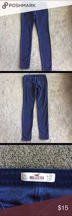 "Hollister jeggings Hollister Jean Jeggings size 9 Long.  29 waist and 31"" inseam. Hollister Jeans Skinny"