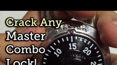 Crack any master combo lock - Mind Blown Survival Tips, Survival Skills, Survival Stuff, Homestead Survival, Outdoor Survival, Combination Locks, Useful Life Hacks, Emergency Preparedness, Things To Know