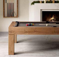 Brunswick Parsons Billiards Table Modern Pools, Billiard Room, Diy Home, Home Hardware, Home Furnishings, Luxury Homes, Decoration, Family Room, House