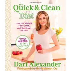 The Quick & Clean Diet: Lose the Weight, Feel Great, and Stay Lean for Life. Featured on an episode of Dr Oz.  Something to try: liquid aminos (salty but without the salt!)