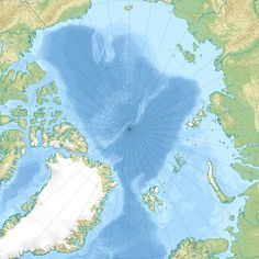 Arctic Ocean relief location map ◆Spitzbergen (Inselgruppe) – Wikipedia http://de.wikipedia.org/wiki/Spitzbergen_%28Inselgruppe%29 #Svalbard