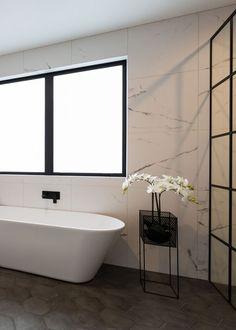 Complete Bathrooms, Brick Tiles, Cork Flooring, Acoustic Panels, Carpet Tiles, Warm Grey, Clawfoot Bathtub, Porcelain Tile, Classic White