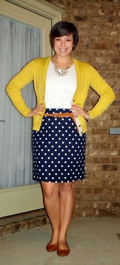 Target yellow polka dot dress