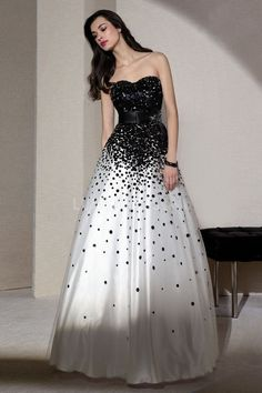Empire Sweetheart Ball Gown With Paillette Tulle Dress For Prom jaglady