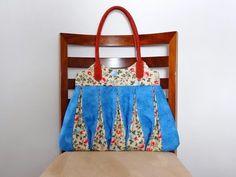 Patchwork Maria Adna - Bolsa em patchwork Amy  - Bolsa em tecido - Aula de bolsa…