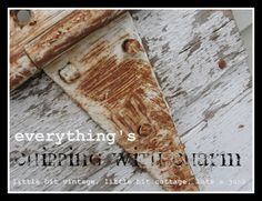 """""""Chipping With Charm"""" -- love the simplicity and rustic charm of her blog posts."""