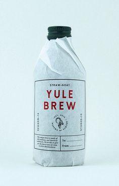 Quietly Writing - userdeck:   Yule Brew.