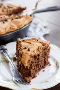 Buttermilk Chocolate Cake with Coffee Buttercream