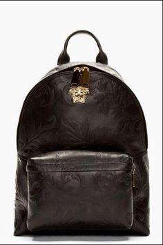 1bafa7d42ffe Versace backpack Versace Backpack, Versace Bag, Backpack Purse, Leather  Backpack, 40l Backpack