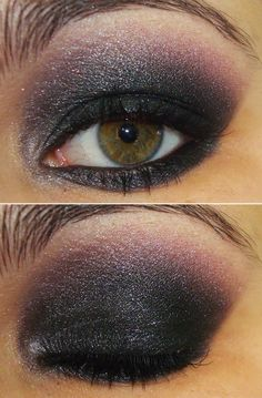 sexy smoky eye.  i love the angle of the shadow on the outer corner...