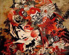 Artistaday.com+:+Fukuoka+City,+Japan+artist+Marumiyan+via+@artistaday