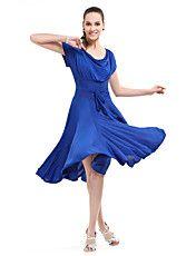 Ballroom Dancewear Viscose Modern Dance Dress... – CAD $ 35.44