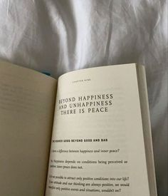 Happiness, Book Study, Foto Instagram, Book Aesthetic, Mood, Pretty Words, Inner Peace, Inspire Me, Book Worms