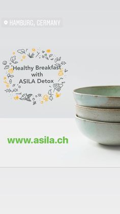 Healthy Breakfast with Organic Supplement ASILA Detox Diet. For a recipe visit our site.  More ideas in social networks. Please follow ad I will love you forever :))
