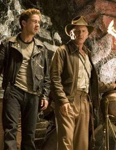 Indiana Jones and his son - Mutt - better known as Henry Jones III