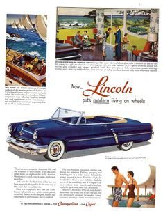 1952 Lincoln Capri Convertible