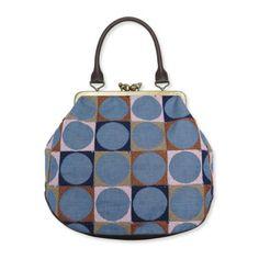 mina perhonen ミナぺルホネン|cuddle bag-pallo- Gucci Handbags, Purses And Handbags, Textiles, Frame Purse, Diy Handbag, Handmade Bags, Backpack Bags, Clutch Bag, Coin Purse