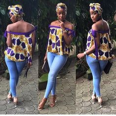 Classic Tops Made With Ankara Styles : Ankara Tops.Classic Tops Made With Ankara Styles : Ankara Tops African Fashion Designers, African Print Fashion, Africa Fashion, African Fashion Dresses, African Attire, African Wear, African Dress, African Prints, African Style