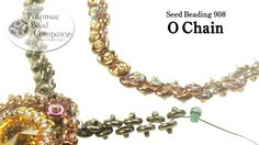 Seed Beading 908 O Chain. This video tutorial from The Potomac Bead Company teaches you how to make a simple beaded chain using our Czech glass O Beads. These chains make a great resource for hanging pendants, beads, and more! Our Website (Shop Diy Jewelry Videos, Jewelry Making Tutorials, Beading Tutorials, Seed Bead Jewelry, Beaded Jewelry, Beaded Bracelets, Stackable Bracelets, Bead Earrings, Tutorials