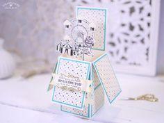 Kartenbox Carousel Birthday - Stampin'Up! mit stempelherz