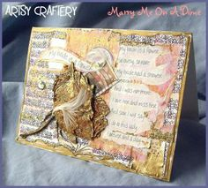 Handmade Card for Bride, Partner, Companion by ArtsyCraftery for $5.75