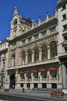 Casino de Madrid, calle Alcalá. Madrid España