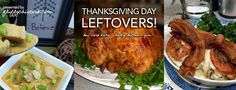 38 WAYS TO LOVE YOUR TURKEY (THANKSGIVING TURKEY LEFTOVERS)! Check out Fluffy Chix Cook's Thanksgiving Leftover Board on Pinterest! Follow Fluffy Chix Cook on Pinterest!