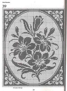Amazing filet crochet forest free charts many free patterns on the crochet book 101 filet crochet charts raissa tavares lbuns da web do picasa ccuart Gallery