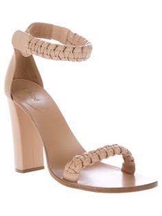 CHLOÉ - Braided sandal 5