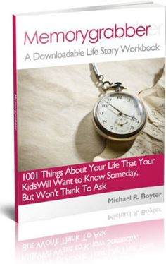 Write Your Life story With a Fill-in-the-Blank Workbook - Memorygrabber