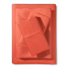 Performance 400 Thread Count Sheet Set - Solid - Threshold™ : Target - coral if you want some contrast/pop