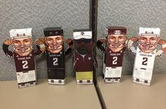 Aggie Football Player Cut-Outs for Your Home or Office Desk - OMG totally decorating my work space with these! Too many Longhorns where I work! Aggie Game, Aggie Football, Football Banquet, College Football Players, M Craft, Johnny Manziel, Texas A&m, Southern Style, Fun Activities