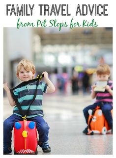 Ready for holiday #travel?! Get family travel advice from Pit Stops for Kids!