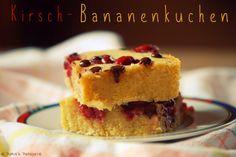 Patce's Patisserie: Kirsch-Bananenkuchen mit Chocolate Chips...oder doch Bananenbrownies?