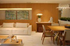 Espaço Gourmet com Sala de Estar - Rodrigo Martinelli Arquitetura