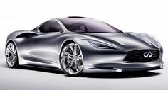 Infiniti Emerge-E - Electric supercar?