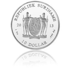 SURINAME, 1OZ SILVER COIN, 2013 in stock and has just been added to http://www.finesilvercoins.co.uk/suriname-1oz-silver-coin-2013/