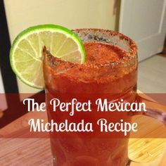 The perfect savory + spicy recipe for a Michelada, a Mexican beer cocktail | http://www.everintransit.com/mexican-michelada-recipe/ | Mexican michelada recipe