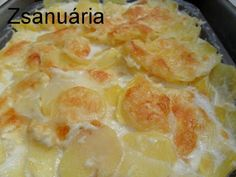 Hungarian Recipes, Hungarian Food, Macaroni And Cheese, Pineapple, Fruit, Ethnic Recipes, Desserts, Gratin, Living Room