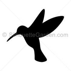 Hummingbird silhouette clip art. Download free versions of the image in EPS…