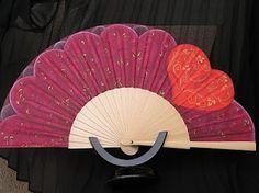 Hand Fan, Home Appliances, Fans, Painted Fan, Umbrellas, Hand Fans, House Appliances, Appliances