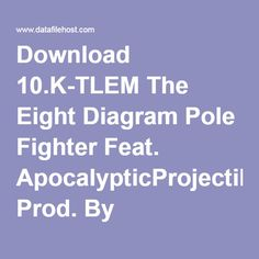 Download 10.K-TLEM The Eight Diagram Pole Fighter Feat. ApocalypticProjectile Prod. By K-TLEM.mp3 Eight, Diagram, Music, Musik, Music Activities, Musica, Muziek, Songs