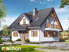projekt Dom w poziomkach 7 (P) widok 1